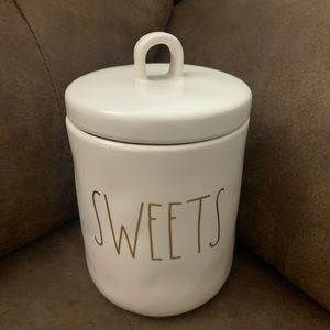 "RAE DUNN  ""SWEETS"" Jar"